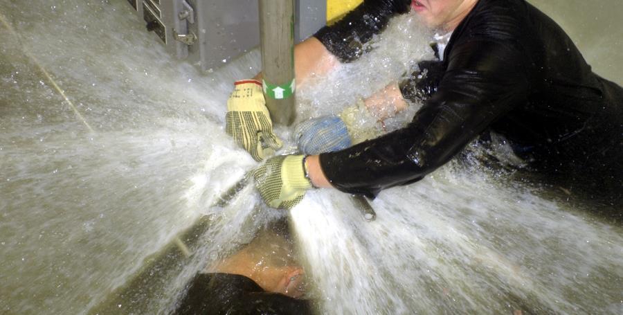 quando chiamare un idraulico